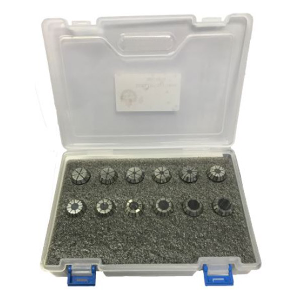 COLLET ER16 SET imperial, 11 pieces