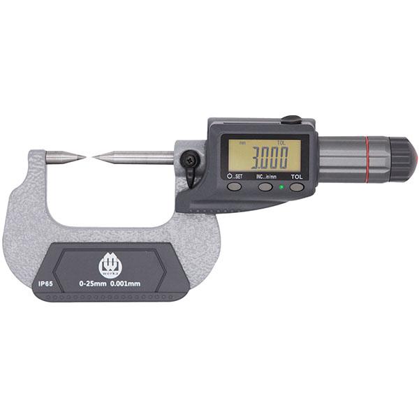 0-1″ x 0.00005 IP54 Digital Point Micrometer